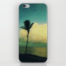 sunset solo iPhone & iPod Skin