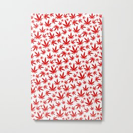 Canada Weed Metal Print