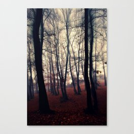 Horror Forest Canvas Print