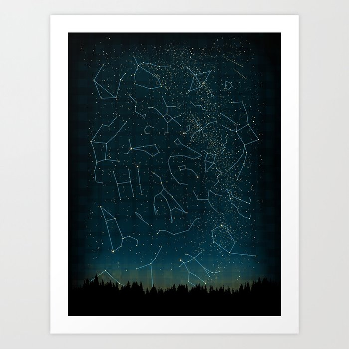 There IS somebody out there! Art Print