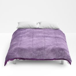 Violet wall Comforters