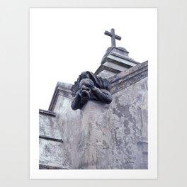 Gargoyle of the Italian Vault Art Print