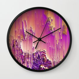 Lollypop Reed Wall Clock