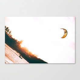 Down Wind Canvas Print