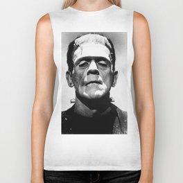 Frankenstein's Monster - Classic Horror Movies Biker Tank