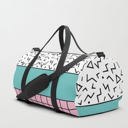 Memphis Pattern 33 / 80s - 90s Retro Duffle Bag