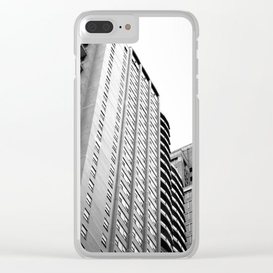 New York, USA. Clear iPhone Case