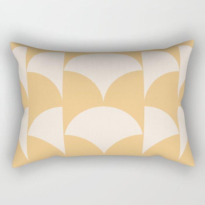 Cleo Pattern - Sunrise Rectangular Pillow