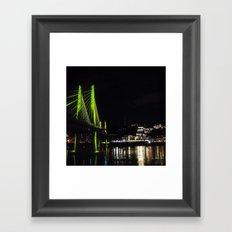 Tilikum Greens Framed Art Print