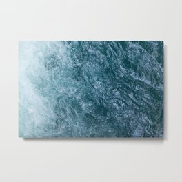 Mountain Waters II (Norway) Metal Print
