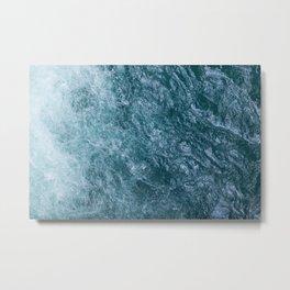 Mountain Waters II (Norway) Metal Print