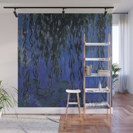 """Claude Monet """"Water Lilies and Weeping Willow Branches"""", 1919 Wall Mural"""