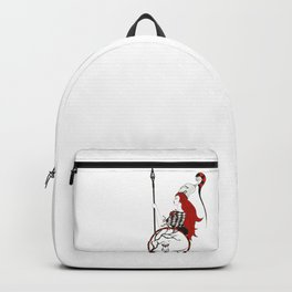 The Lady Athena, Goddess of Wisdom and War Backpack