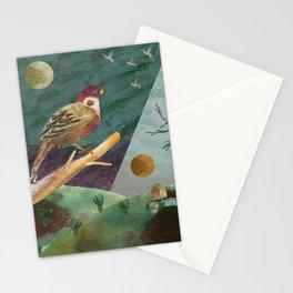 Day/Night Stationery Cards