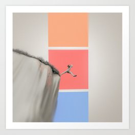 Picking A Color Art Print
