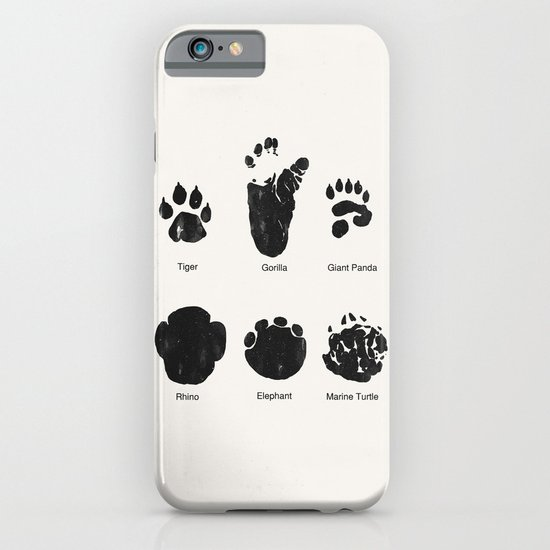 Animal Track iPhone & iPod Case
