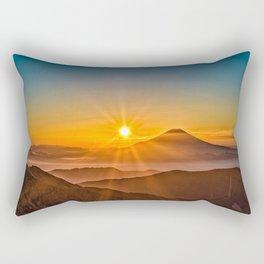 The Southern Alps Rectangular Pillow