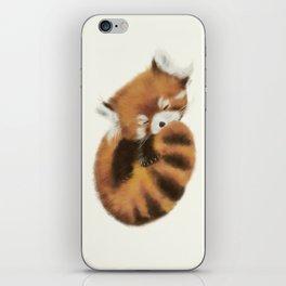 Baby Red Panda (Off-White) iPhone Skin