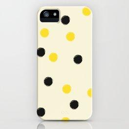 Bee Polka iPhone Case