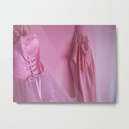 Pink Slips Metal Print