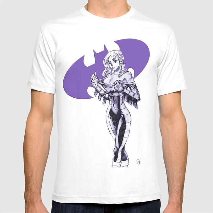 Batgirl Stephanie - Purple T-shirt