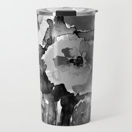 Floral Enchantment No.17D by Kathy Morton Stanion Travel Mug