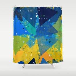 Spring Confetti Shower Curtain