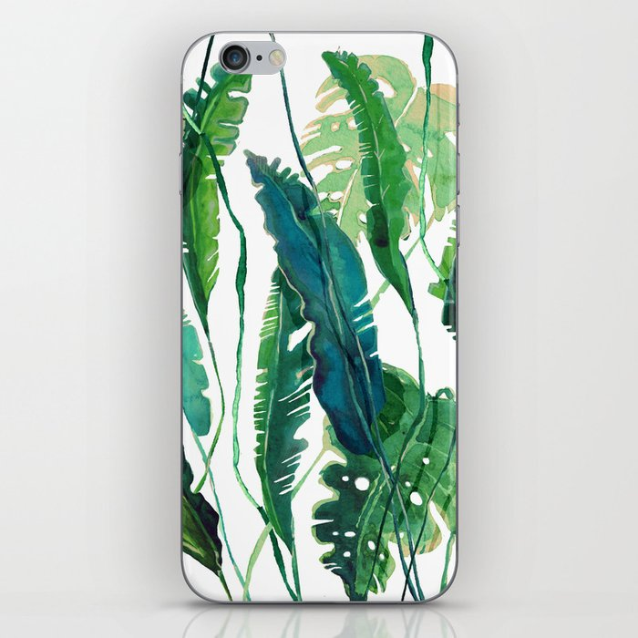 tropical compilation iPhone Skin