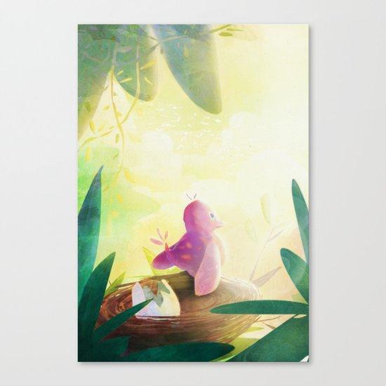 Jollie Pollie Birdie Canvas Print