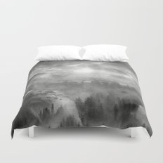 Black and White - Wish You Were Here (Chapter I) Duvet Cover