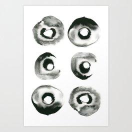 Six Pack Art Print