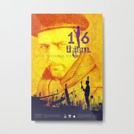 One Sixth Ism Vol.3 Metal Print