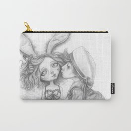 Little Bunny Girl Carry-All Pouch