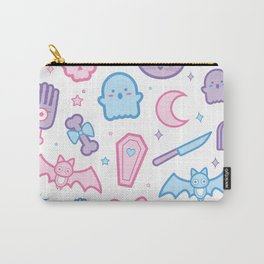 Soft and Spooky (Transparent) Carry-All Pouch