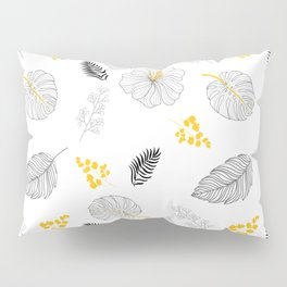 Leaves Pattern Pillow Sham