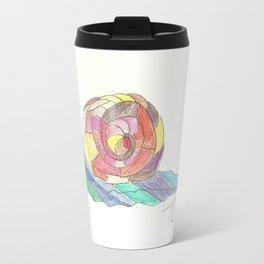 Mosaic Snail Travel Mug