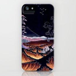 The Sea at Satta. Dark iPhone Case