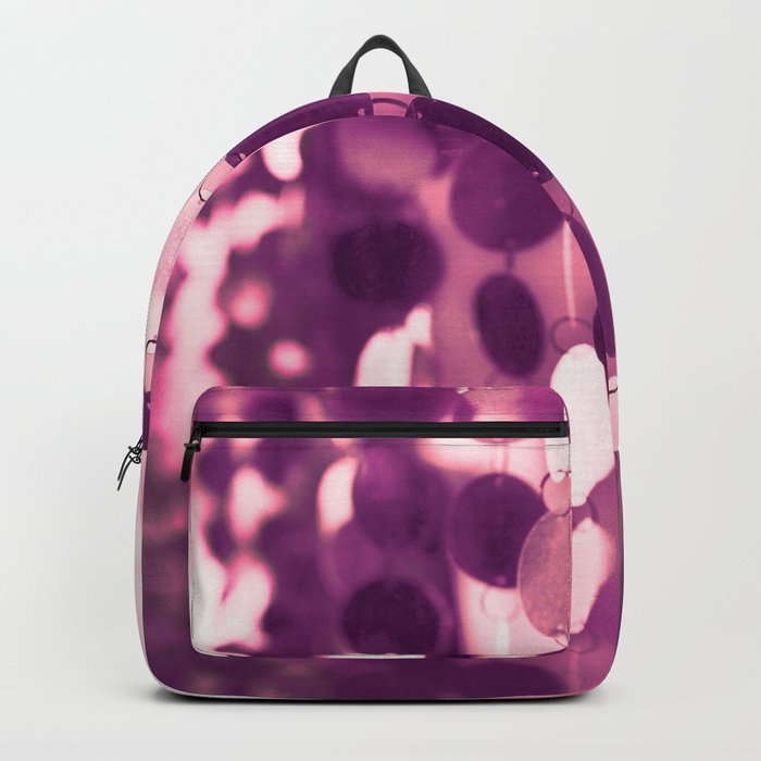 GLAM CIRCLES #Pink/Purple #1 Backpack