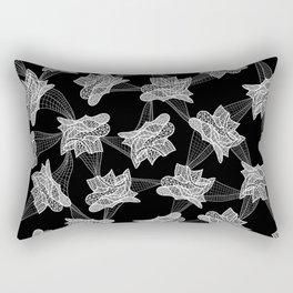 Gehry Lace Rectangular Pillow