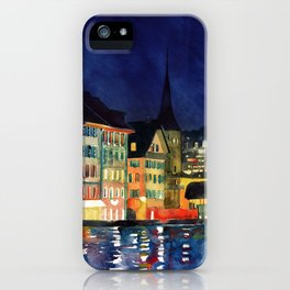 Lucerne iPhone Case
