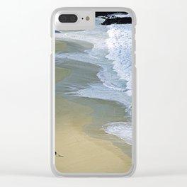 """Beach Lifestyle """"GOD'S POV"""" Clear iPhone Case"""
