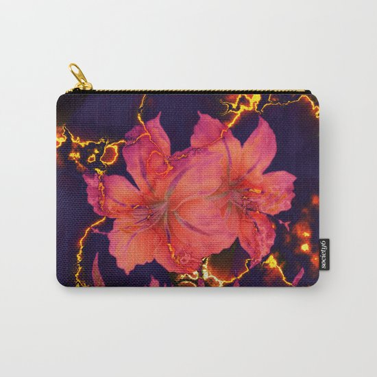 luminous amaryllis Carry-All Pouch