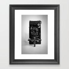 Antique Kodak Camera Framed Art Print