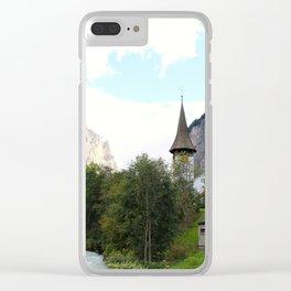 Fairytale Village - Lauterbrunnen Switzerland Clear iPhone Case