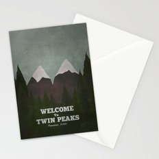 Welcome to Twin Peaks Stationery Cards