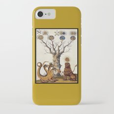 3 Headed Dragon and Lion - Garden of Beasts Collection Slim Case iPhone 7