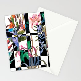 GEOMETRIC ABSTRACT PATTERN Stationery Cards