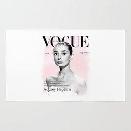Audrey Hepburn print Rug