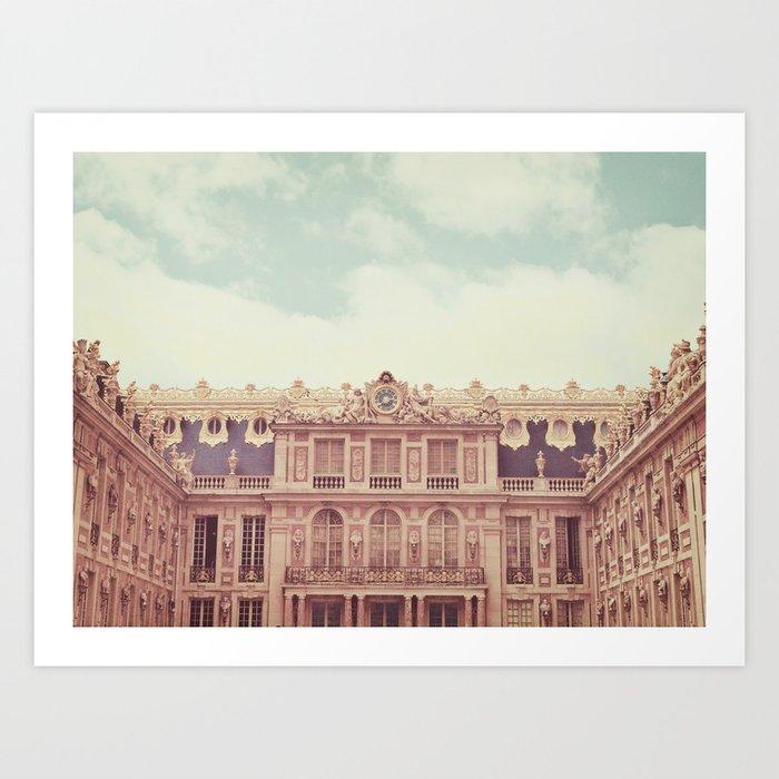 Chateau Versailles Kunstdrucke