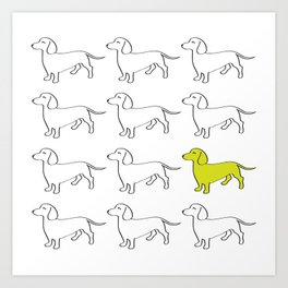Weenie Collective Art Print